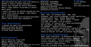 Michael Jackson Soundboard And Sound Clips