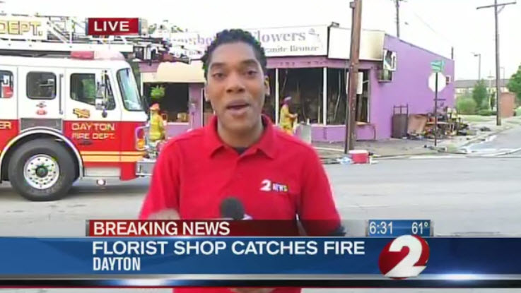 Flower Shop Fire