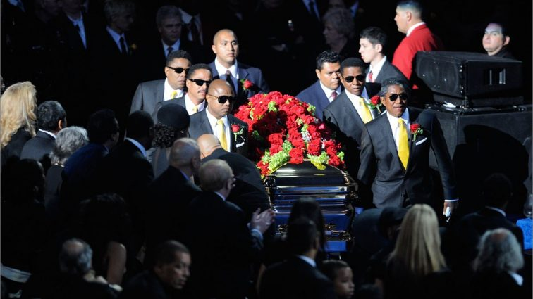 MJ's Coffin