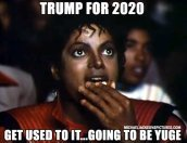 Trump for 2020 will be Yuge!