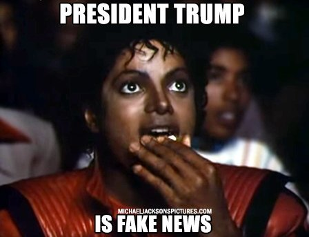 Donald Trump is fake news