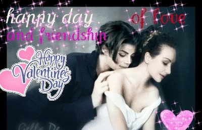 MJ happy day of love and friendship card