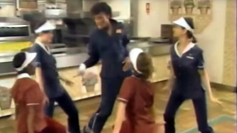 Michael Jackson featured in McDonald's Training Video